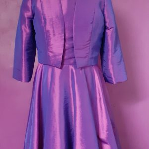 two tone pink and purple taffeta dress- jenny dixon couture-jennydixoncouture.com