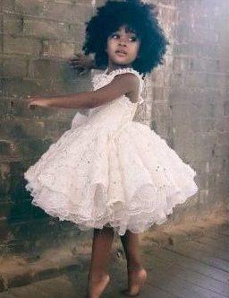 White flower girl dress - jenny dixon - jennydixoncouture.com